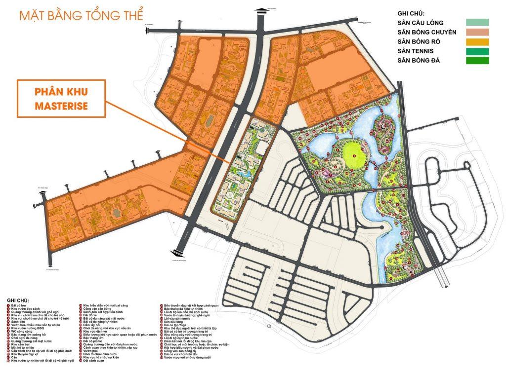Mặt bằng dự án Marina Central